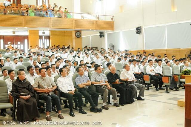 16277 khai giang 2 - Đại Chủng Viện Thánh Giuse Hà Nội khai giảng năm học mới 2019 - 2020