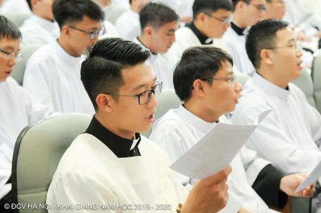 16277 khai giang 3 - Đại Chủng Viện Thánh Giuse Hà Nội khai giảng năm học mới 2019 - 2020