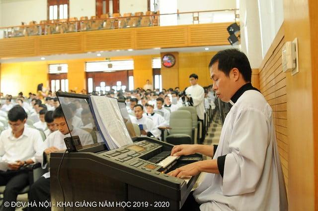 16277 khai giang 4 - Đại Chủng Viện Thánh Giuse Hà Nội khai giảng năm học mới 2019 - 2020