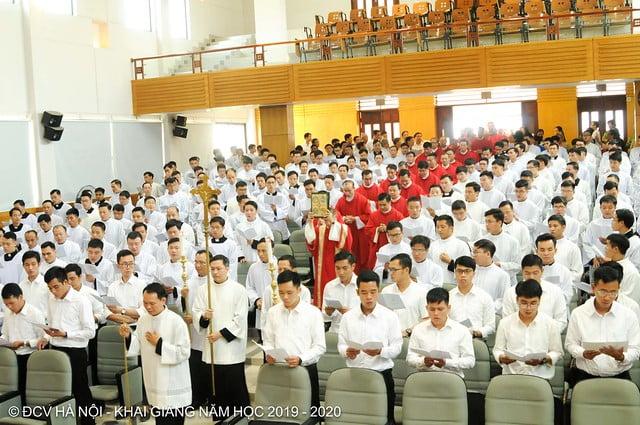 16277 khai giang 5 - Đại Chủng Viện Thánh Giuse Hà Nội khai giảng năm học mới 2019 - 2020