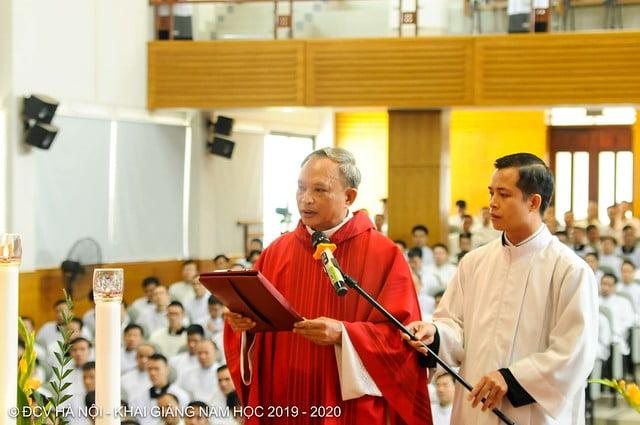 16277 khai giang 6 - Đại Chủng Viện Thánh Giuse Hà Nội khai giảng năm học mới 2019 - 2020