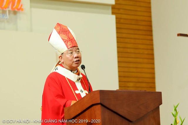 16277 khai giang 8 - Đại Chủng Viện Thánh Giuse Hà Nội khai giảng năm học mới 2019 - 2020