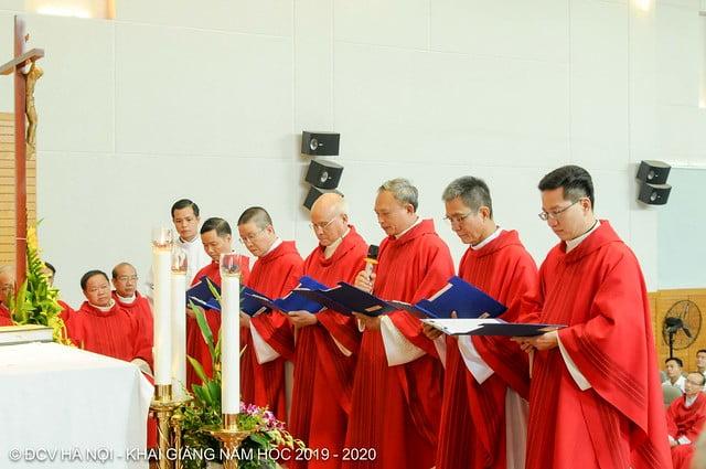 16277 khai giang 9 - Đại Chủng Viện Thánh Giuse Hà Nội khai giảng năm học mới 2019 - 2020
