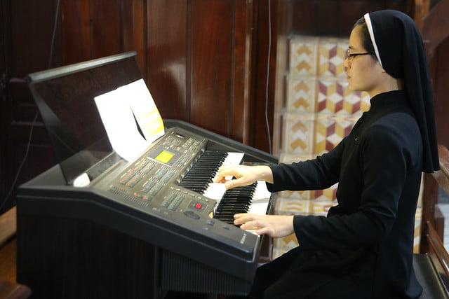 16279 ban chap hanh 8 - Thánh lễ tạ ơn và trao Bổ nhiệm thư cho Ban Chấp hành giới trẻ TGP Hà Nội nhiệm kỳ 2019-2022