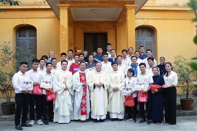 16279 gioi tre 1 - Thánh lễ tạ ơn và trao Bổ nhiệm thư cho Ban Chấp hành giới trẻ TGP Hà Nội nhiệm kỳ 2019-2022