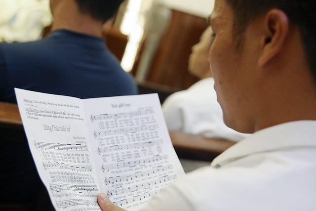 16279 gioi tre 7 - Thánh lễ tạ ơn và trao Bổ nhiệm thư cho Ban Chấp hành giới trẻ TGP Hà Nội nhiệm kỳ 2019-2022