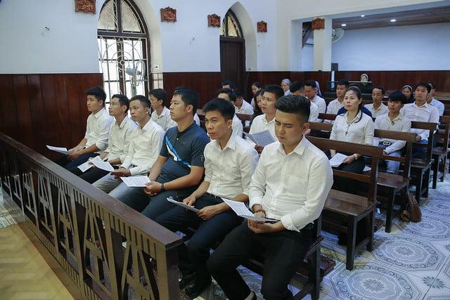 16279 gioi tre 9 - Thánh lễ tạ ơn và trao Bổ nhiệm thư cho Ban Chấp hành giới trẻ TGP Hà Nội nhiệm kỳ 2019-2022