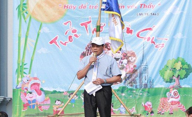 """16316 trung thu 1 - Thiếu nhi giáo xứ Lảnh Trì: Ngày hội """"Tuổi thơ bên Chúa"""""""