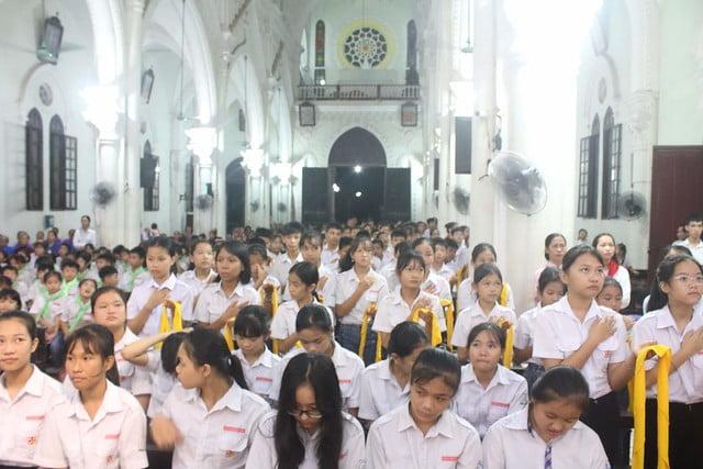16317 bon mang 4 - Giáo xứ Đại ơn: Thánh lễ Quan thầy Xứ đoàn Thánh Tôma Thiện