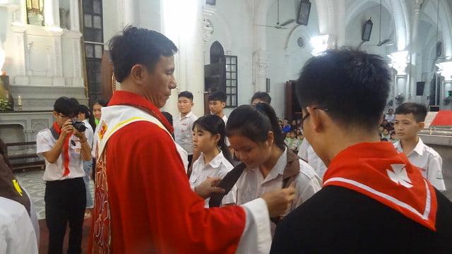 16317 bon mang 5 - Giáo xứ Đại ơn: Thánh lễ Quan thầy Xứ đoàn Thánh Tôma Thiện