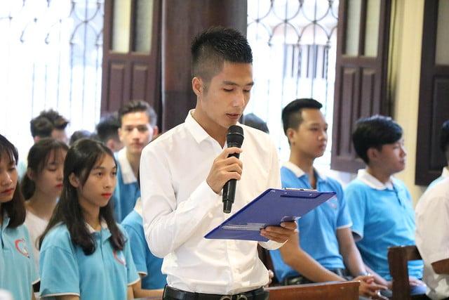 """16317 gioi tre 6 - Quan thầy giới trẻ giáo xứ Sở Hạ lần thứ 12: """"Hãy đứng lên - hãy tỏa sáng ra"""""""