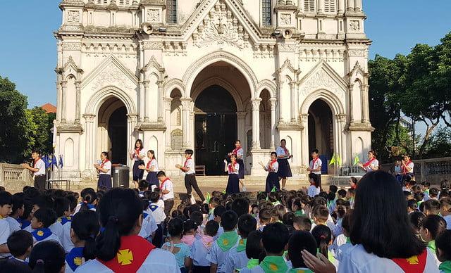 16327 khai giang 3 - Giáo xứ Đại Ơn: Thánh Lễ khai giảng năm học mới 2019-2020