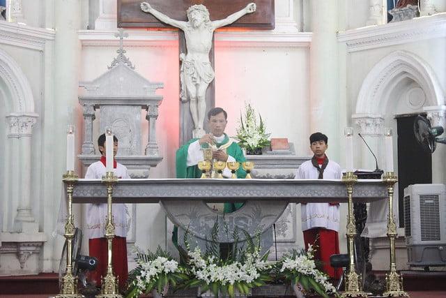 16327 khai giang 4 - Giáo xứ Đại Ơn: Thánh Lễ khai giảng năm học mới 2019-2020