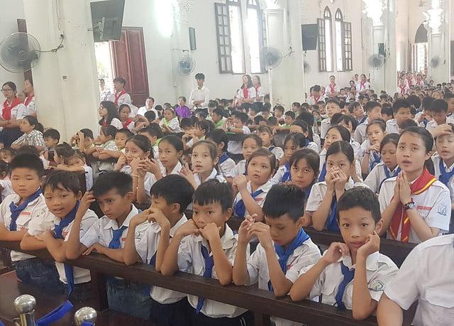 16327 khai giang 5 - Giáo xứ Đại Ơn: Thánh Lễ khai giảng năm học mới 2019-2020