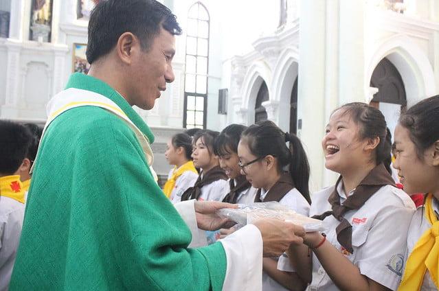 16327 khai giang 6 - Giáo xứ Đại Ơn: Thánh Lễ khai giảng năm học mới 2019-2020