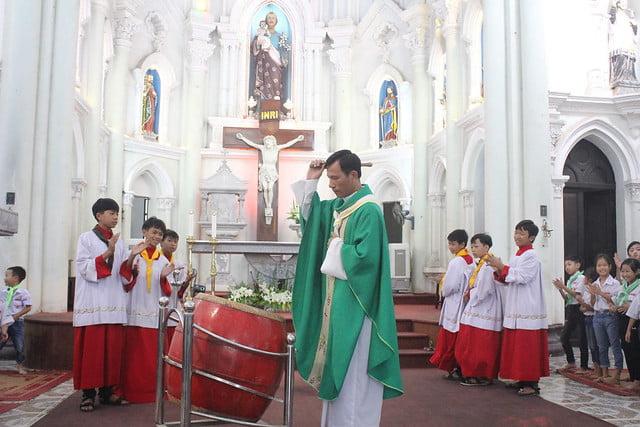 16327 khai giang 8 - Giáo xứ Đại Ơn: Thánh Lễ khai giảng năm học mới 2019-2020