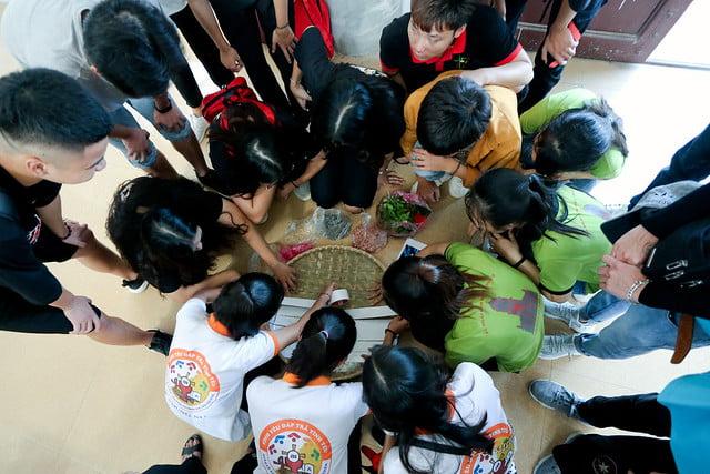 16335 phu oc 1 - Lần đầu tiên giới trẻ giáo xứ Phú Ốc mừng lễ Đấng bảo trợ