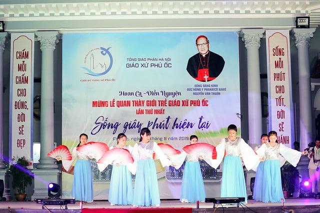 16335 phu oc 11 - Lần đầu tiên giới trẻ giáo xứ Phú Ốc mừng lễ Đấng bảo trợ