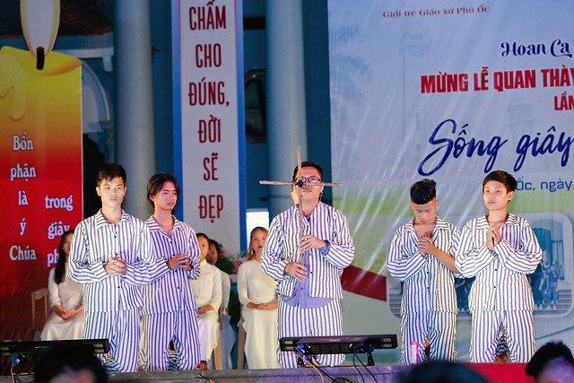16335 phu oc 13 - Lần đầu tiên giới trẻ giáo xứ Phú Ốc mừng lễ Đấng bảo trợ