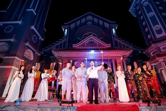 16335 phu oc 15 - Lần đầu tiên giới trẻ giáo xứ Phú Ốc mừng lễ Đấng bảo trợ