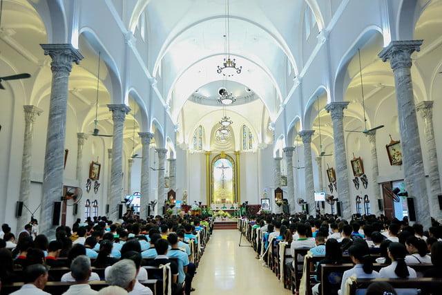16335 phu oc 4 - Lần đầu tiên giới trẻ giáo xứ Phú Ốc mừng lễ Đấng bảo trợ