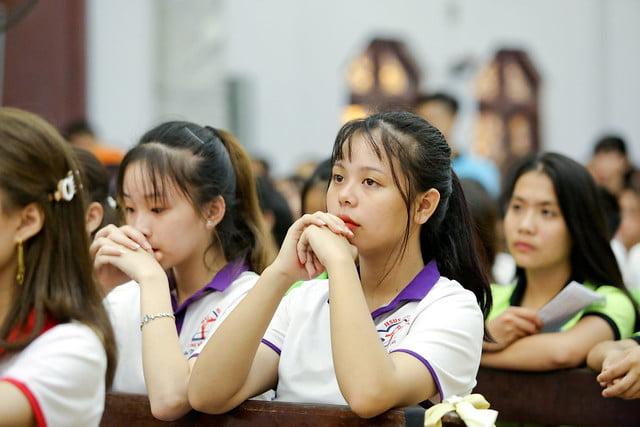 16335 phu oc 6 - Lần đầu tiên giới trẻ giáo xứ Phú Ốc mừng lễ Đấng bảo trợ