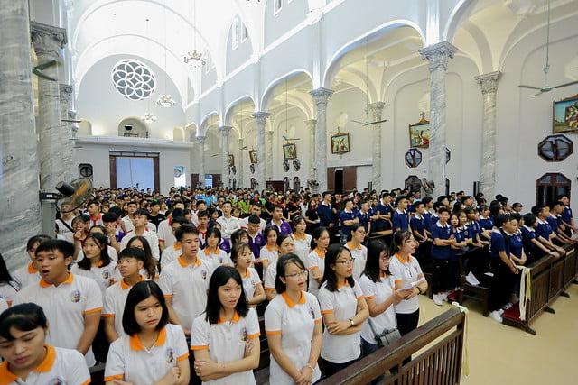 16335 phu oc 9 - Lần đầu tiên giới trẻ giáo xứ Phú Ốc mừng lễ Đấng bảo trợ