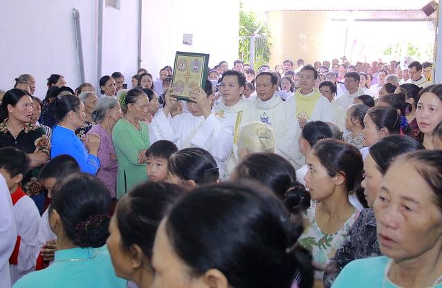 16336 ba hang 4 - Tân giáo họ Ba Hàng: Thánh lễ tạ ơn và làm phép nhà nguyện