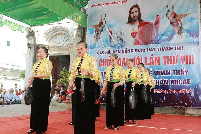 16352 dai hoi ken 1 - Đại hội Kèn đồng giáo hạt Thanh Oai lần thứ VIII