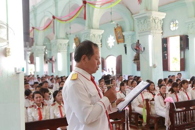 16352 dai hoi ken 10 - Đại hội Kèn đồng giáo hạt Thanh Oai lần thứ VIII