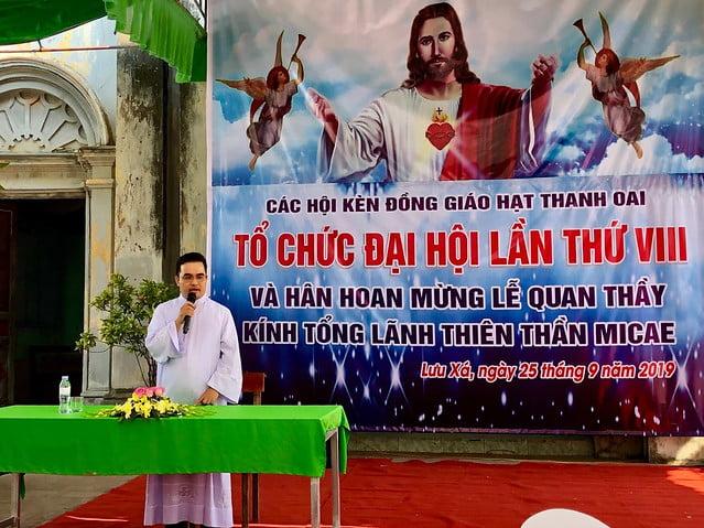 16352 dai hoi ken 12 - Đại hội Kèn đồng giáo hạt Thanh Oai lần thứ VIII