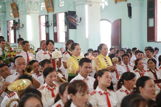 16352 dai hoi ken 13 - Đại hội Kèn đồng giáo hạt Thanh Oai lần thứ VIII