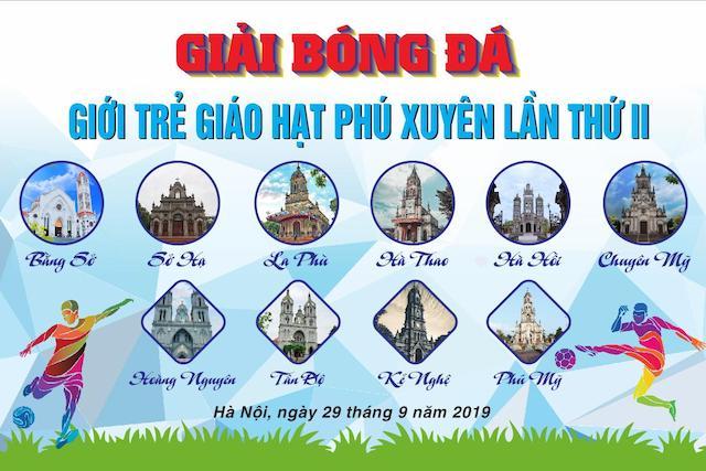 16382 phu xuyen1 - Khai mạc giải bóng đá giới trẻ Giáo hạt Phú Xuyên lần II năm 2019