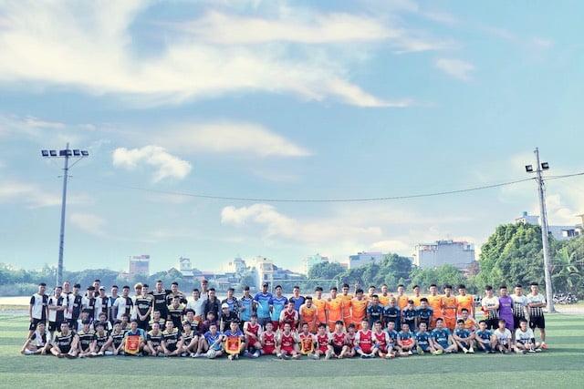 16382 phu xuyen2 - Khai mạc giải bóng đá giới trẻ Giáo hạt Phú Xuyên lần II năm 2019
