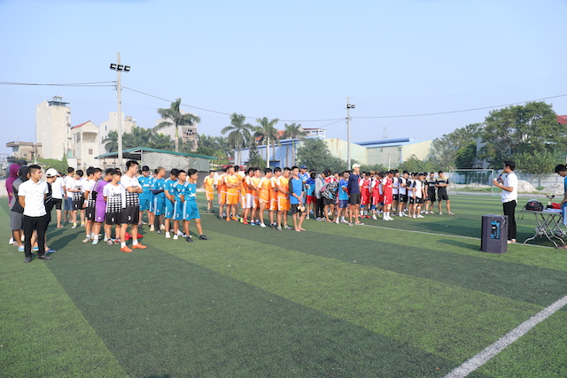 16382 phu xuyen3 - Khai mạc giải bóng đá giới trẻ Giáo hạt Phú Xuyên lần II năm 2019