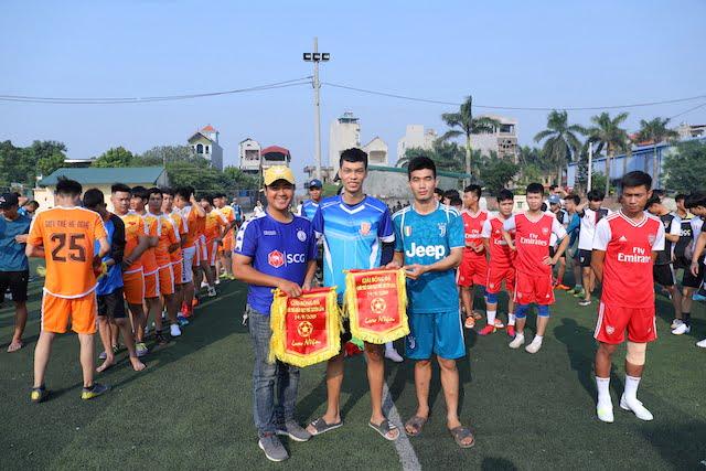 16382 phu xuyen5 - Khai mạc giải bóng đá giới trẻ Giáo hạt Phú Xuyên lần II năm 2019