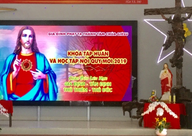 21092019 114140 1 - Giáo xứ Thủ Đức: Gia đình Phạt tạ Thánh Tâm liên giáo hạt tập huấn