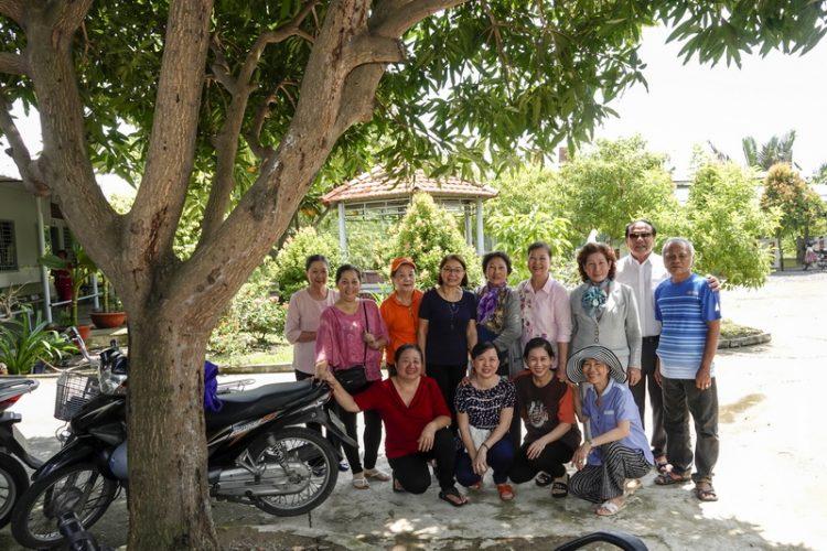 29092019 153034 2 750x500 - Giáo xứ Gia Định: Nhóm Từ Thiện Bác Ái thăm nhà Dưỡng Lão Tình Thương Vinh Sơn