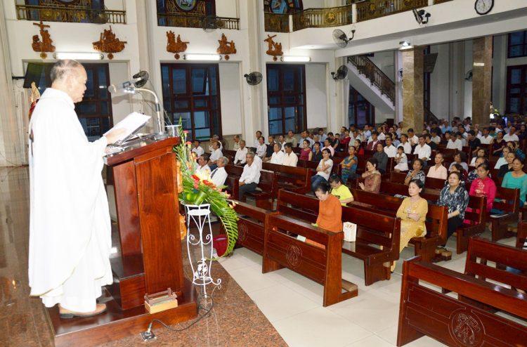 29092019 212518 2 750x494 - Giáo xứ Tân Thành: Kính Tổng Lãnh Thiên Thần Michael