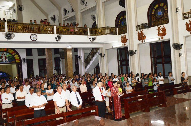 29092019 212518 4 750x494 - Giáo xứ Tân Thành: Kính Tổng Lãnh Thiên Thần Michael