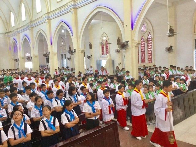 30092019 100735 2 - Giáo xứ Thủ Đức: Ban Lễ sinh mừng bổn mạng