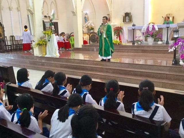 30092019 100735 7 - Giáo xứ Thủ Đức: Ban Lễ sinh mừng bổn mạng