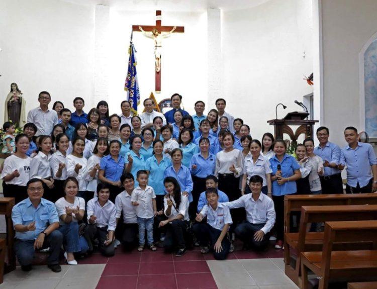 30092019 110623 6 750x575 - Liên đoàn Giới trẻ Hiệp hội Thánh Mẫu: Mừng bổn mạng