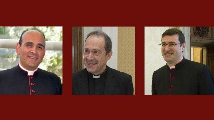 bo nhiem ba giam chuc toa thanh 750x422 - Đức Thánh Cha bổ nhiệm 3 Giám chức Tòa Thánh lên hàng Tổng giám mục