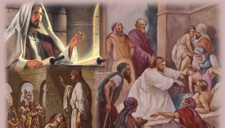 chua giesu den de yeu thuong 750x429 - Chúa Giêsu đến để yêu thương