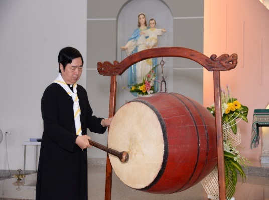 image 20190905083642 1 - Khai giảng năm học giáo lý tại giáo xứ Long Bình