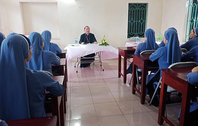 tu doan truyen tin 3 - Nữ Tu Đoàn Truyền Tin Hà Nội Tổng Công Hội Lần Thứ IV