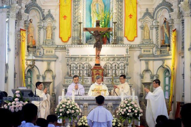 xuy xa 13 - Giáo xứ Xuy Xá: Mừng lễ Tổng lãnh Thiên Thần Micae – quan thầy Giáo xứ