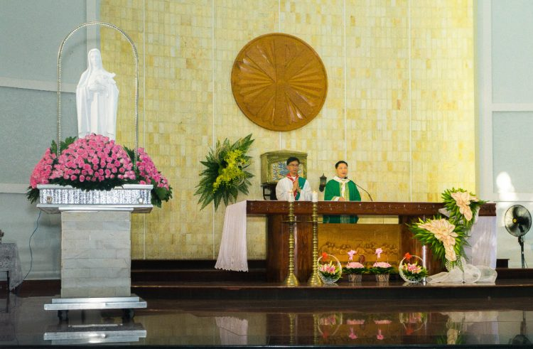 01102019 112634 3 750x491 - Giáo xứ Phú Bình: Mừng bổn mạng Đoàn Thiếu Nhi Thánh Thể