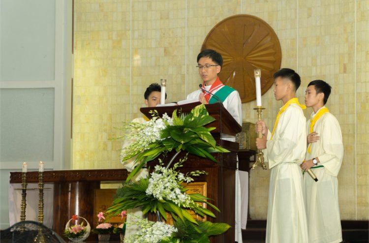 01102019 112634 4 750x494 - Giáo xứ Phú Bình: Mừng bổn mạng Đoàn Thiếu Nhi Thánh Thể